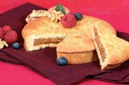 Gâteau Dauphinois fourré aux noix