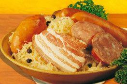 Choucroute garnie d'Alsace
