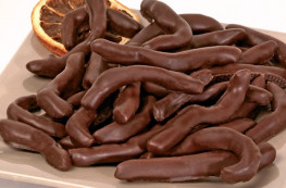 Ecorces d'orange au chocolat