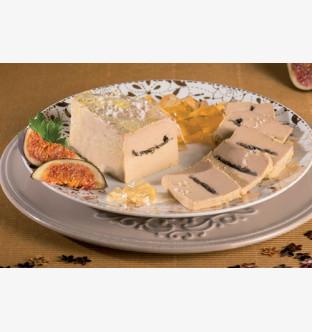 Bloc de foie gras de canard du Périgord truffé 3%
