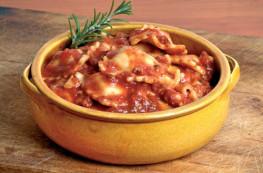 Ravioli pur boeuf sauce bolognaise
