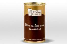Bloc de foie gras de canard origine France