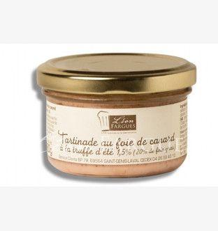 Tartinade au foie de canard à la truffe d'été (20% de foie gras)