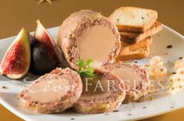 Lot de 2 médaillons de jarret de boeuf au foie de canard (20% de foie gras)