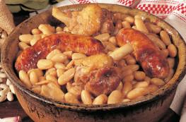 Lot de 2 Cassoulets de Castelnaudary au manchon de canard confit